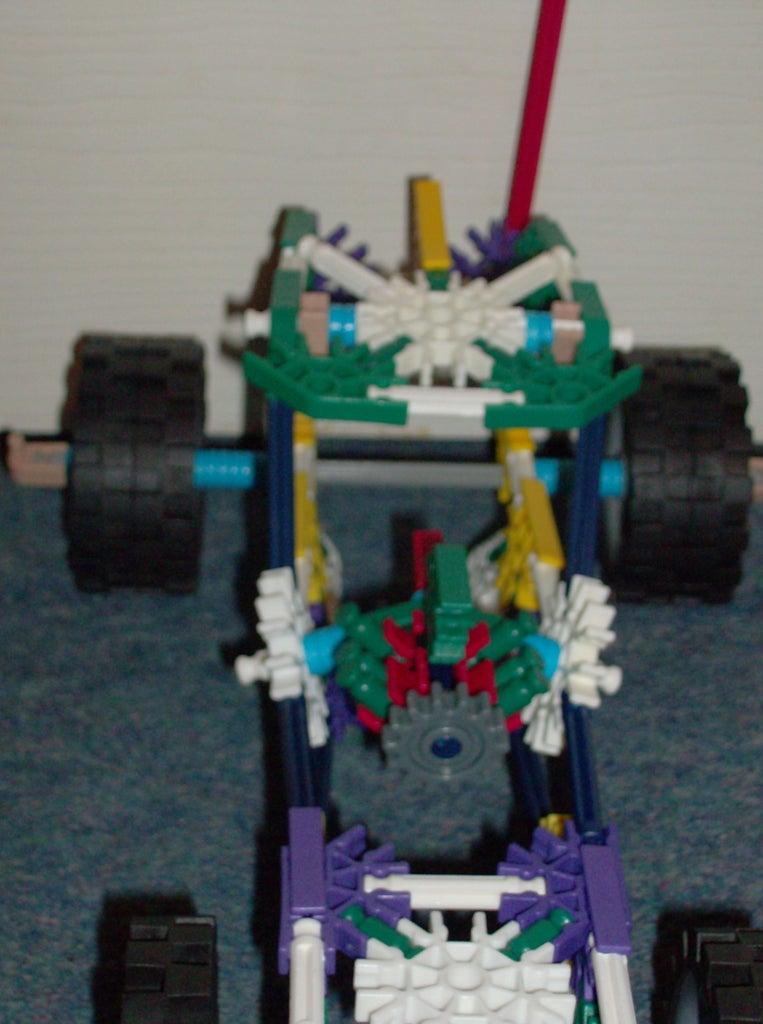Knex Sand Dune Sports Racing Buggy.