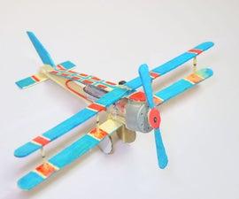 How to Make Aeroplane Using DC Motor