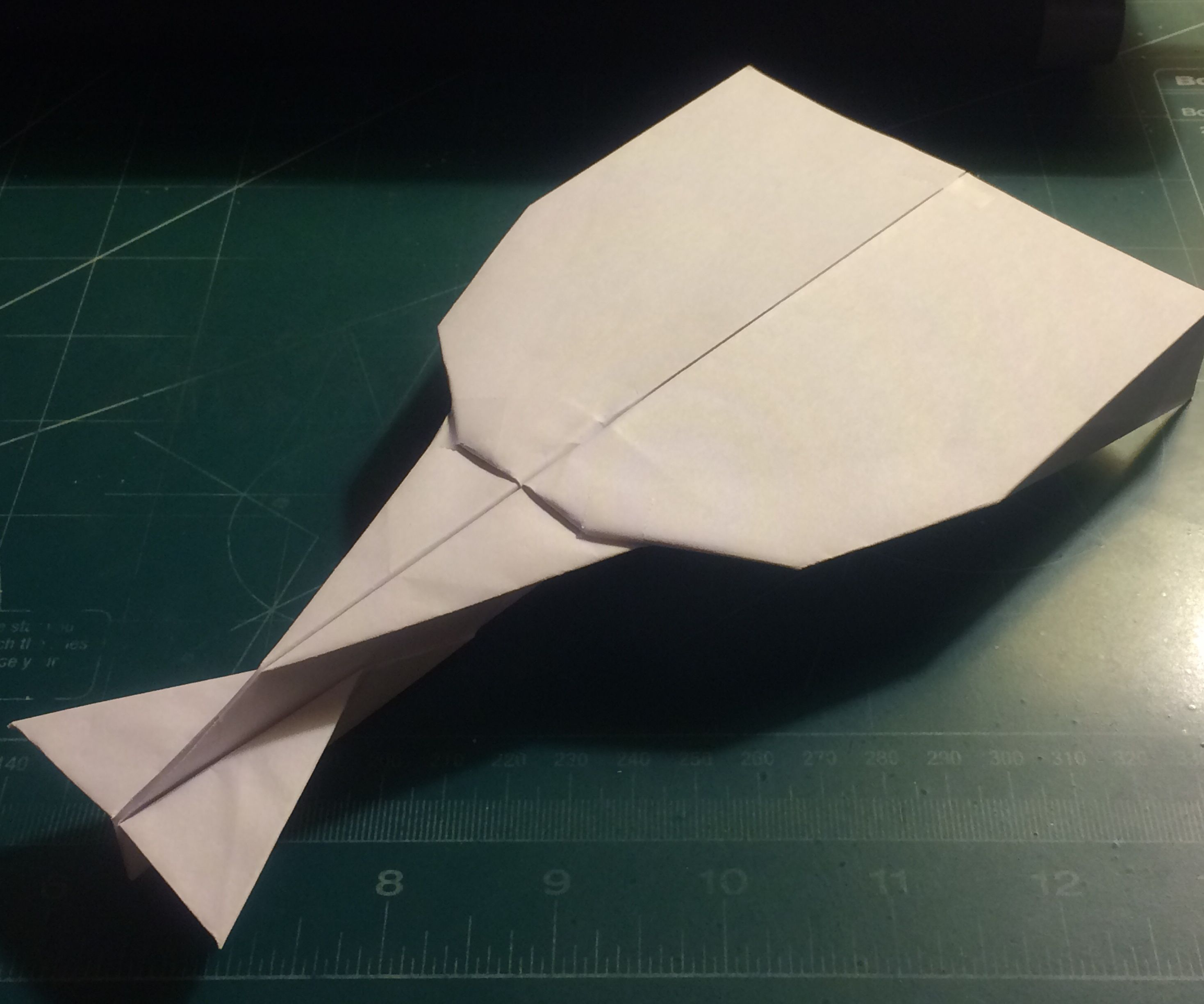 How To Make The CosmoVulcan Paper Airplane