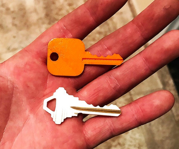 How to Make a Metal Key With a 3D Printer