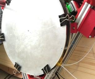 Delta 3D Printer Heated Bed - Heavy Duty