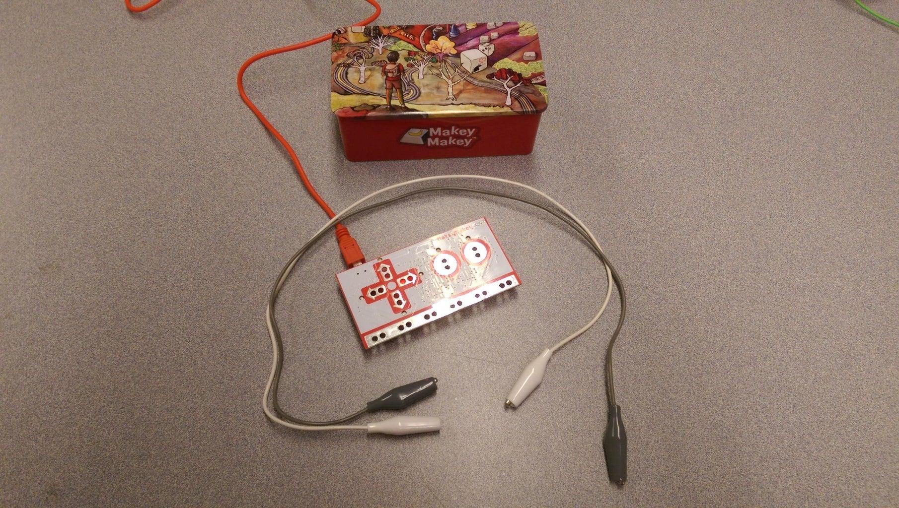 Hands Free MaKey MaKey Ground Bracelet