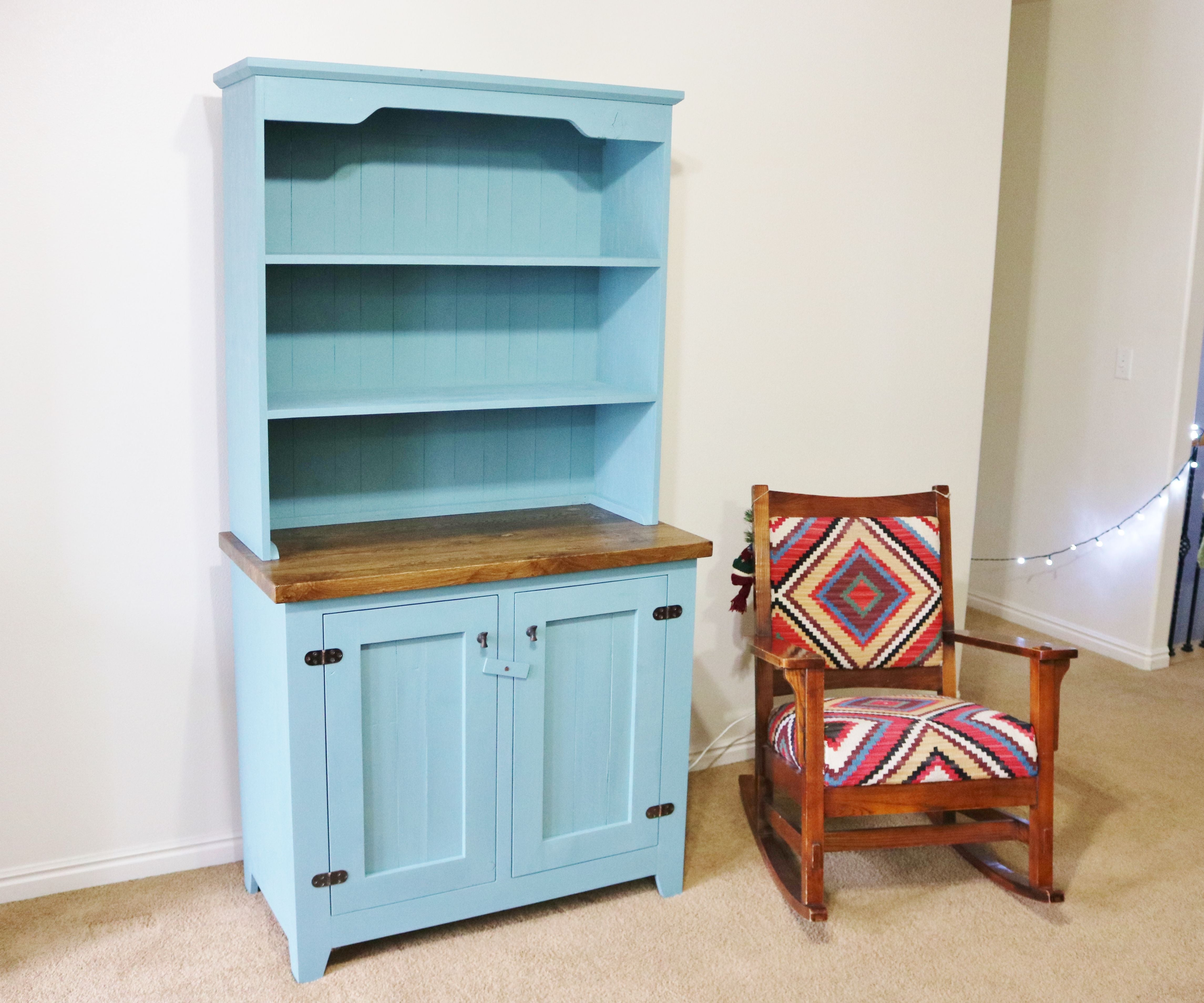 Make A Farmhouse Style Hutch 14 Steps With Pictures Instructables