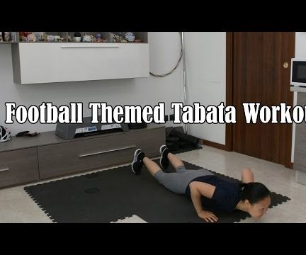 Football Themed Tabata Workout