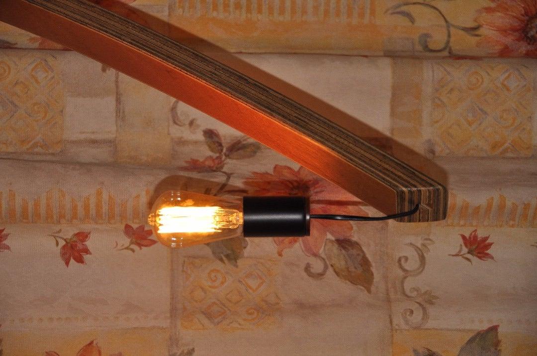 Bent Lamination Plywood Lamp