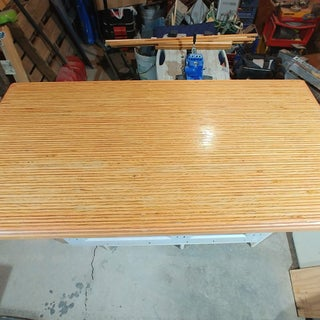 Making a Counter From Plywood Scraps