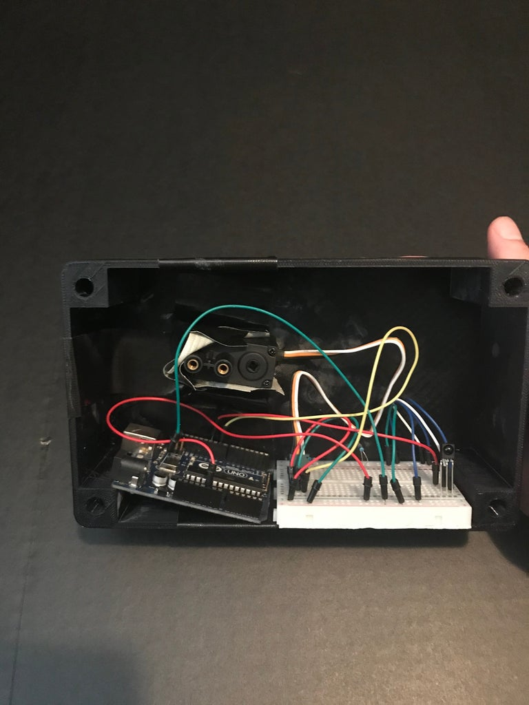 Place Control System in Display Case