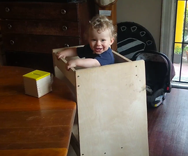 Easy One-Day-Build Toddler Learning Tower