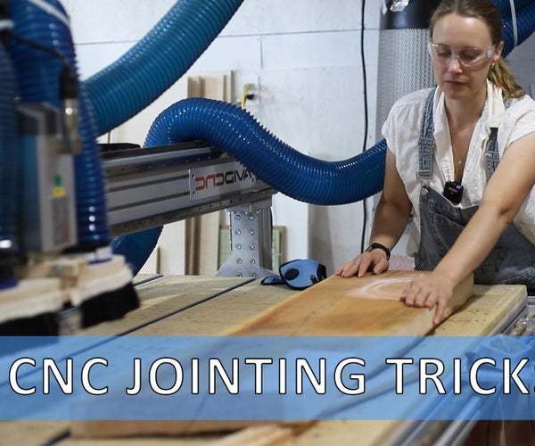 How to Joint & Plane Large Boards on a CNC