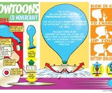 Balloon Powered Hovercraft
