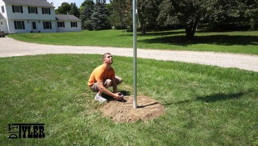 Raising the Flag Pole / Lighting