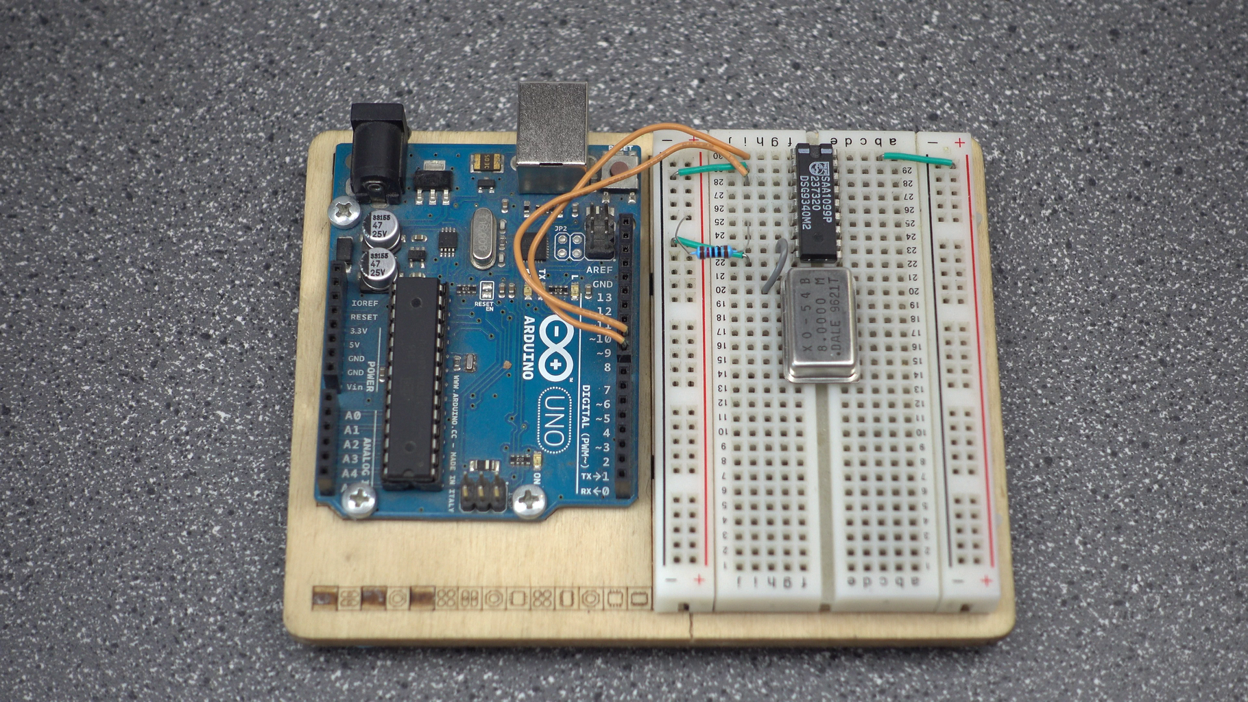 Wiring - Iref and Chip Interface