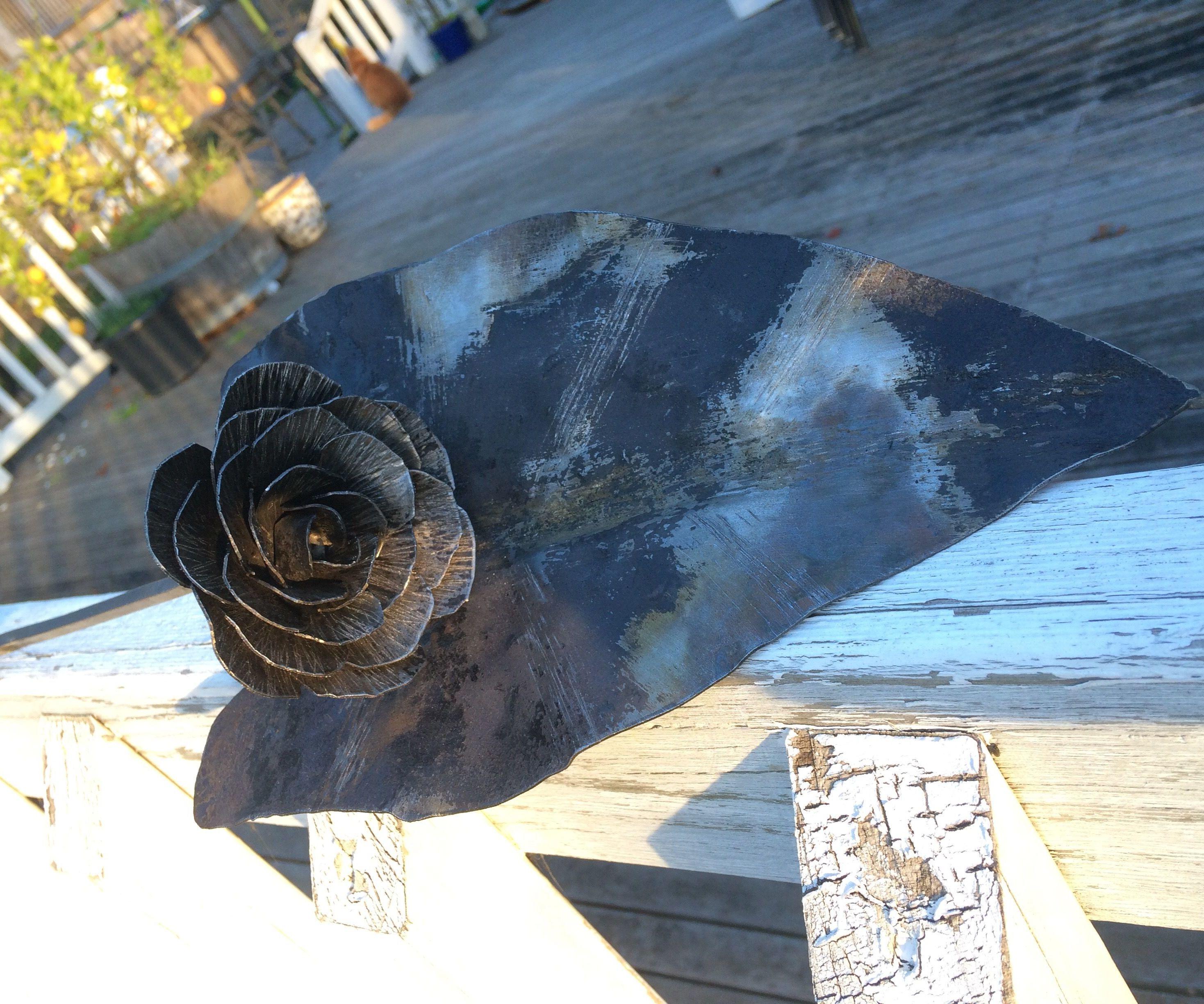 A Steel Rose and Steel Leaf!
