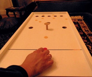 A Small REX, (or Bar Billiards) Game - Without Balls