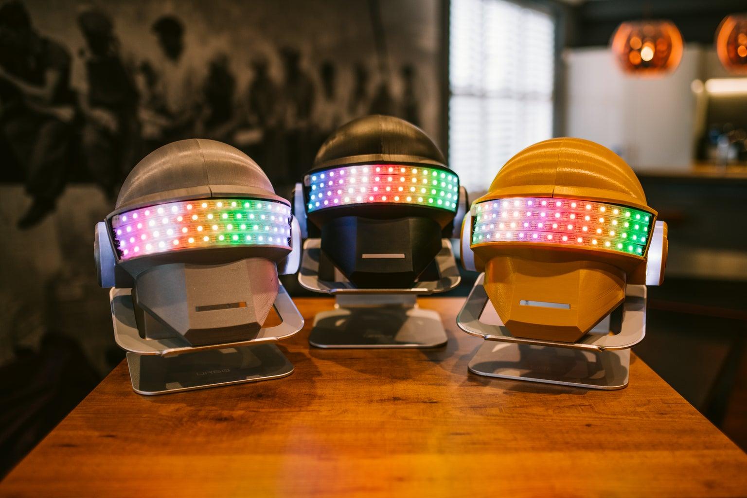 3D Printable Disco Helmet!