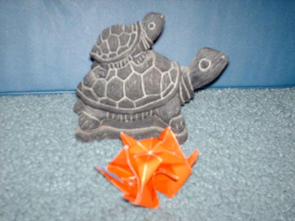 Origami Box Turtle