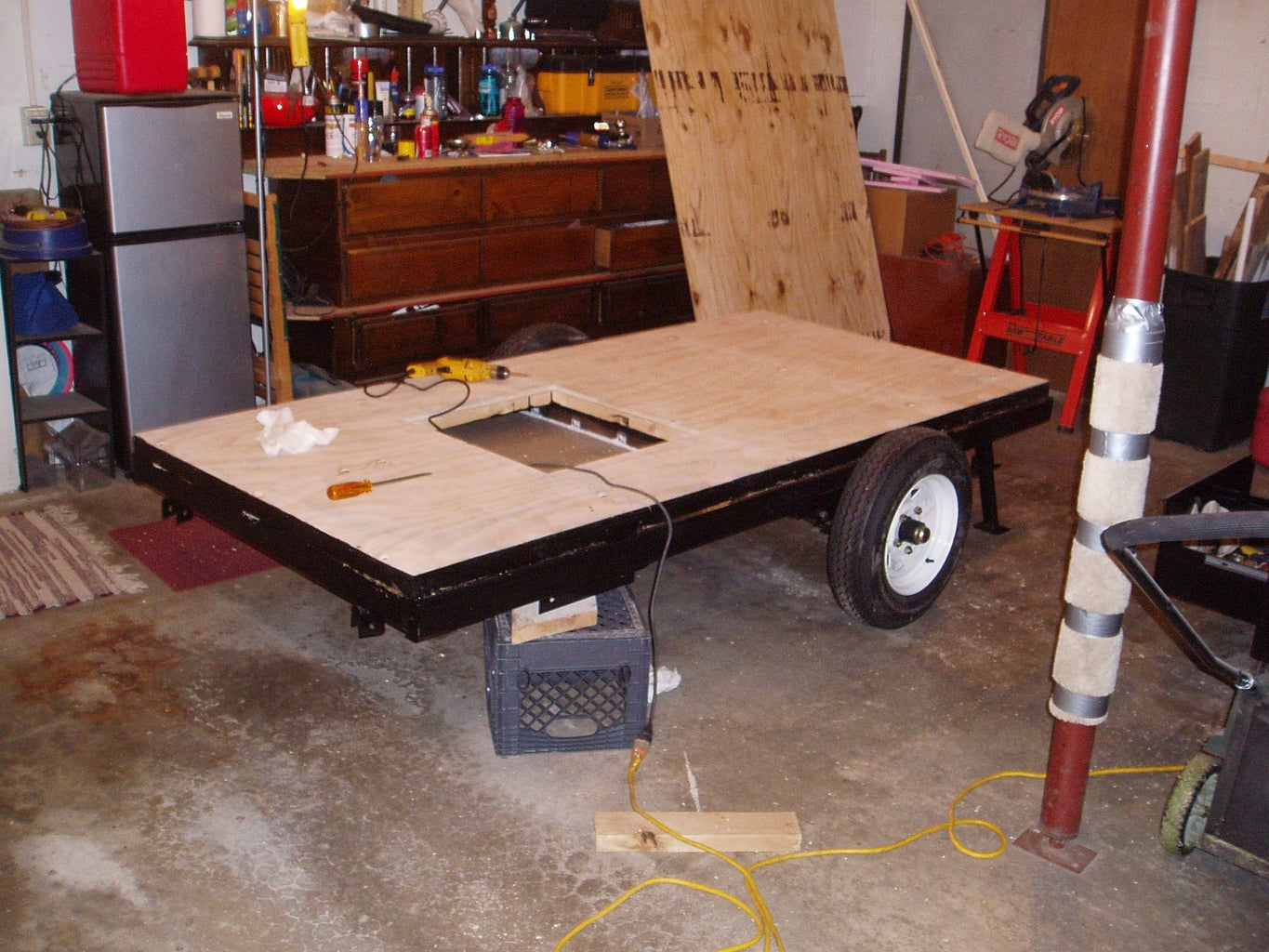 Attaching Floor to Frame