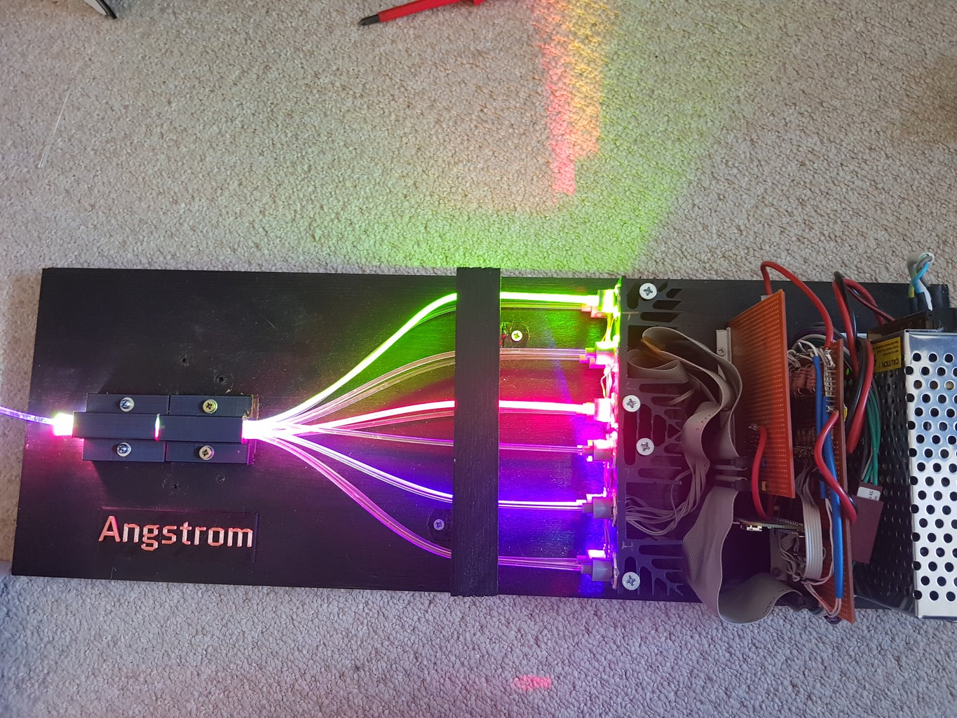 Angstrom - a Tuneable LED Light Source