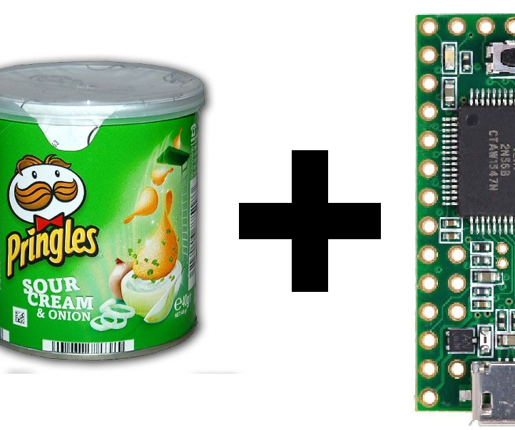 Convert Your Pringles Cans to Audio Player!Simple RTTTL Player Using Teensy