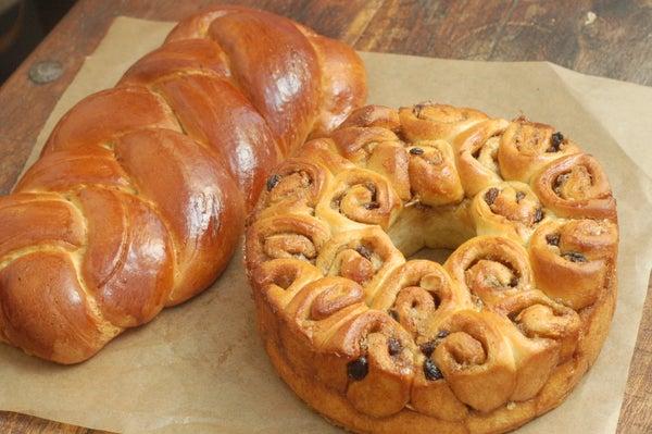 Swedish Cardamon Bread Two Ways