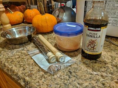 Preparing the Spices