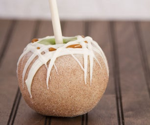 Make Your Own White Chocolate and Caramel Dipped Apples