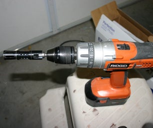 Hacksaw and Cordless Drill Lathe (Sort Of...)