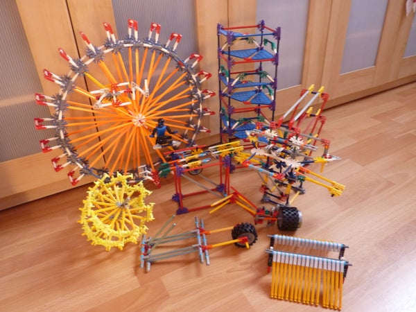 Knex Ball Machine: Euphoria, Elements