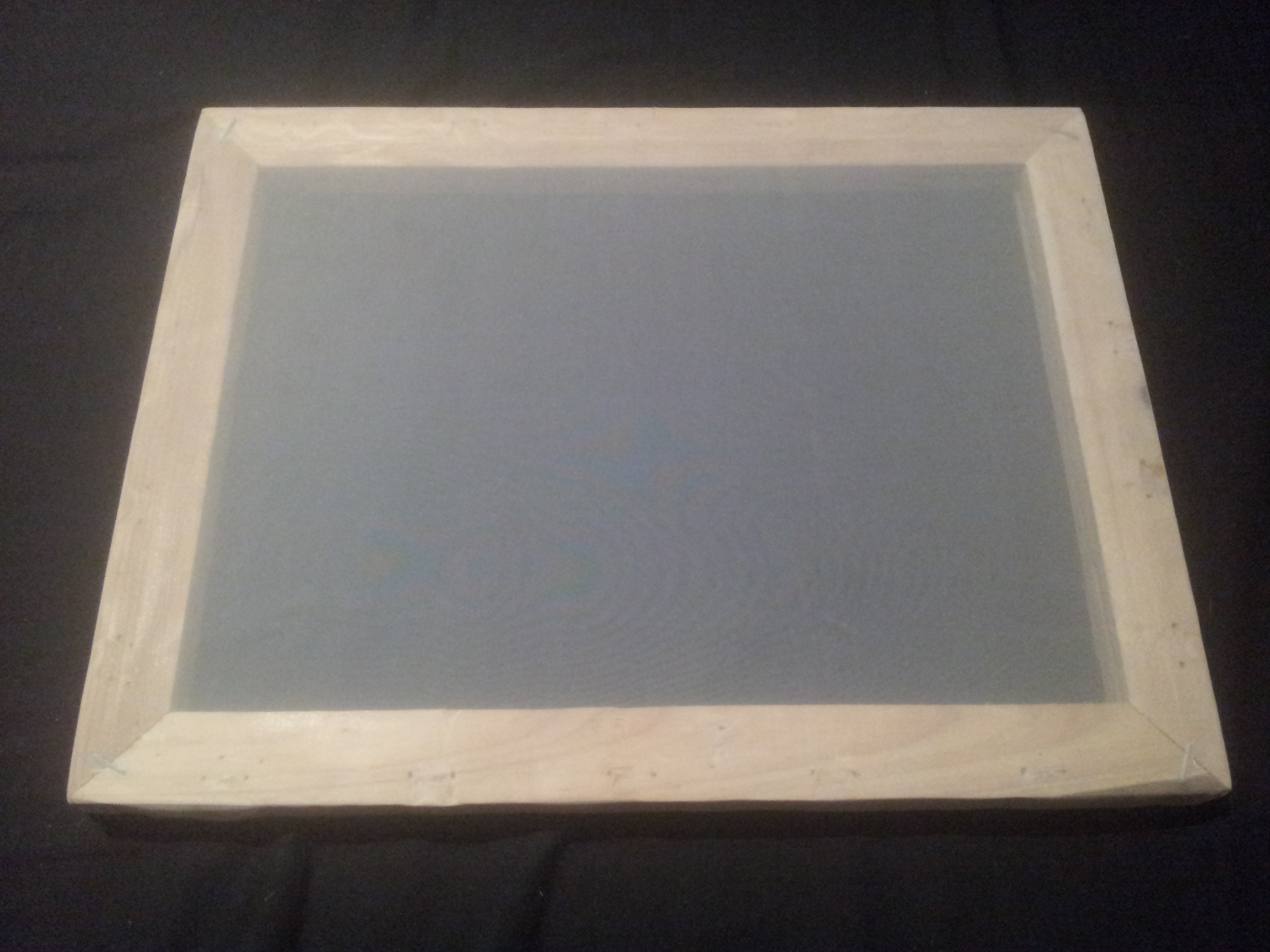 DIY Silk-Screen Printing Screen ~ Upcycling / Recycling / Re-purposing ~