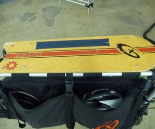 Custom Snapdeck for Xtracycle Cargo Bike