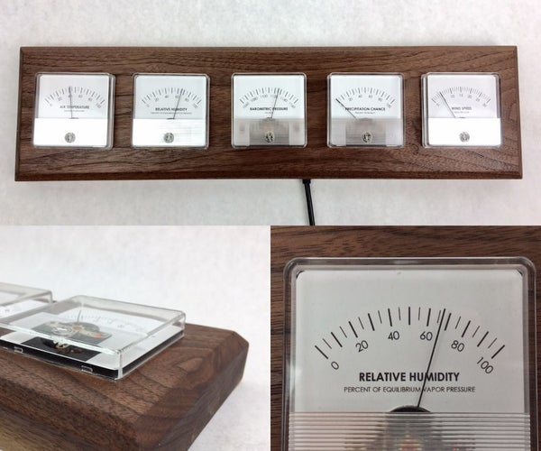 Panel Meter Weather Station With Photon