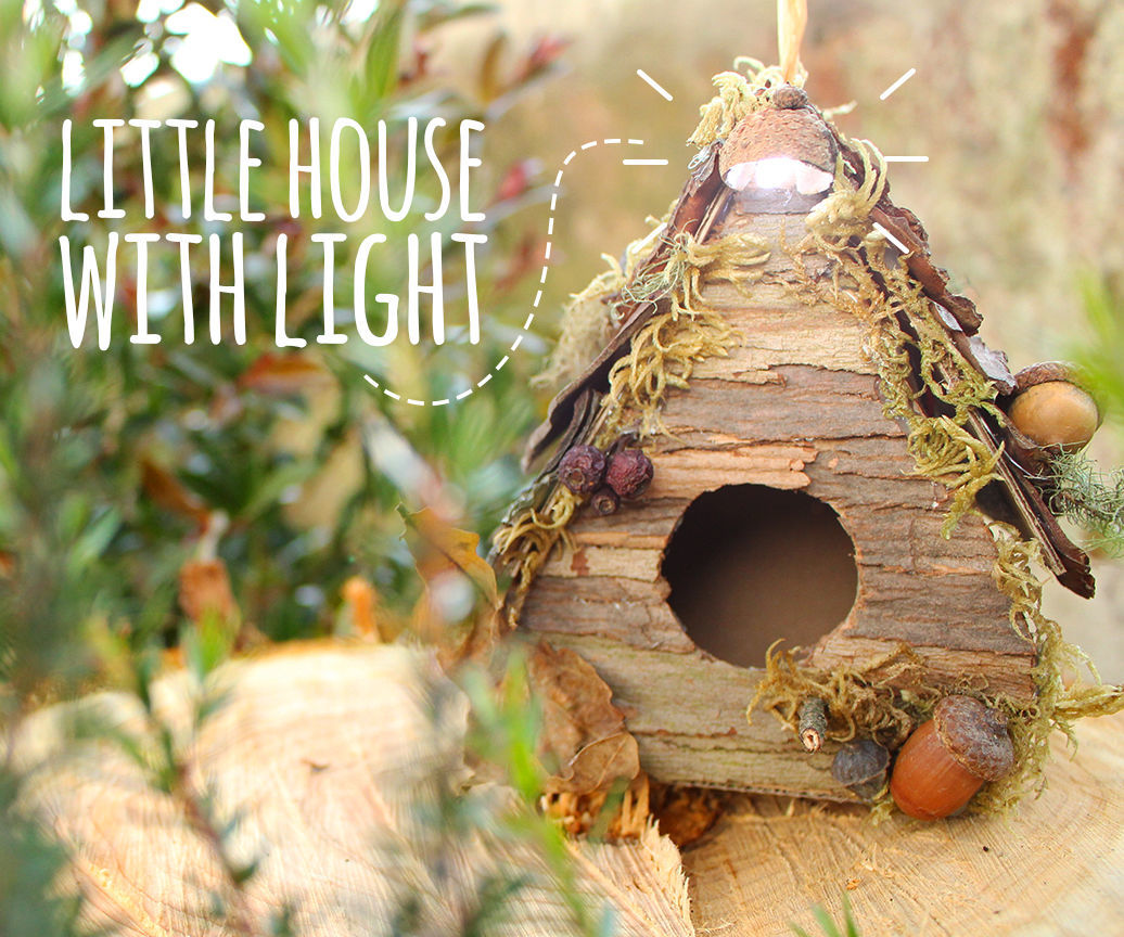 Little house with light