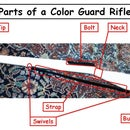 How to Tape a Color Guard Rifle