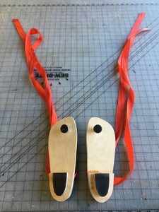 Apply Straps and Vibram Rubber Sole