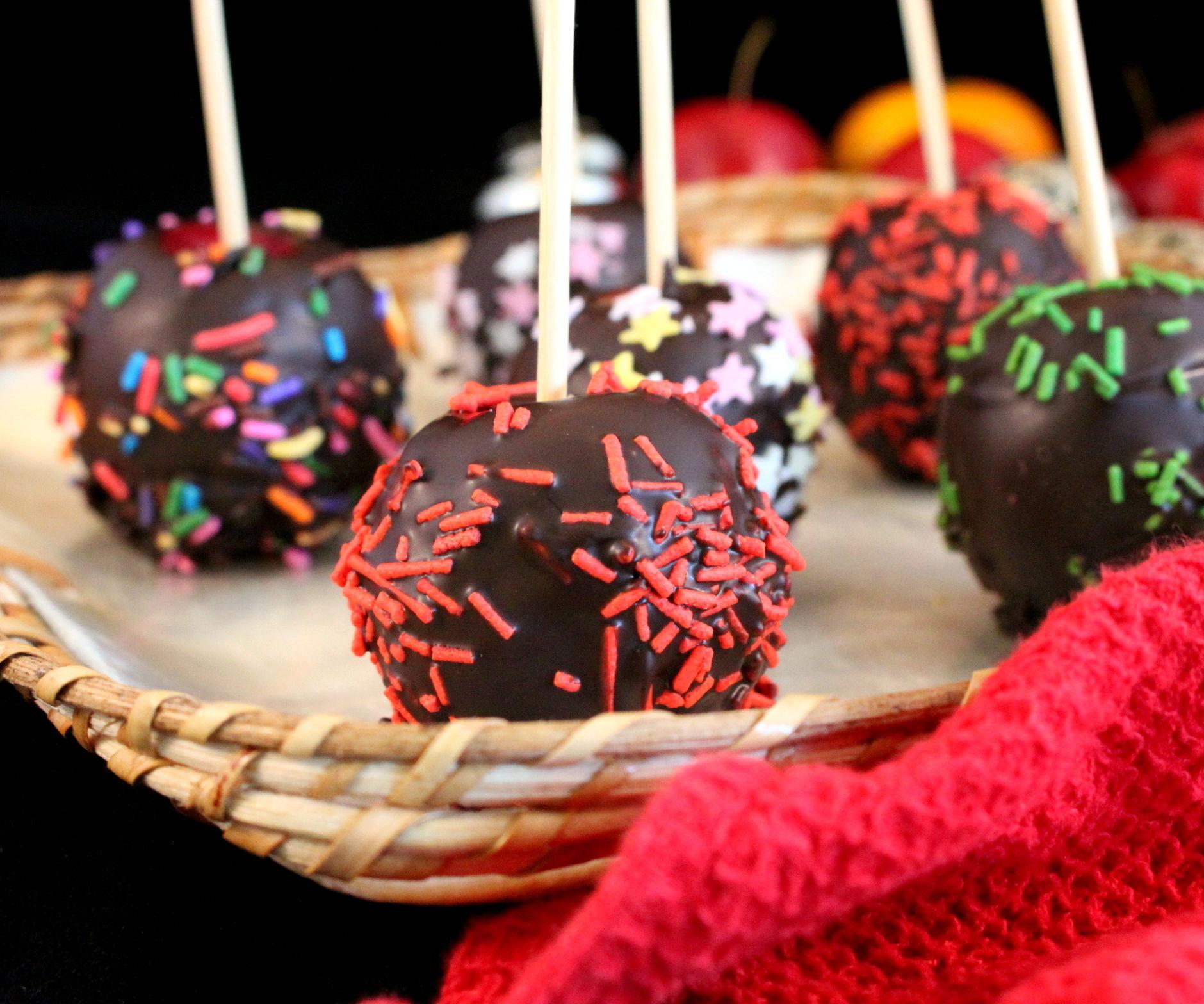 Chocolate Mini Apples