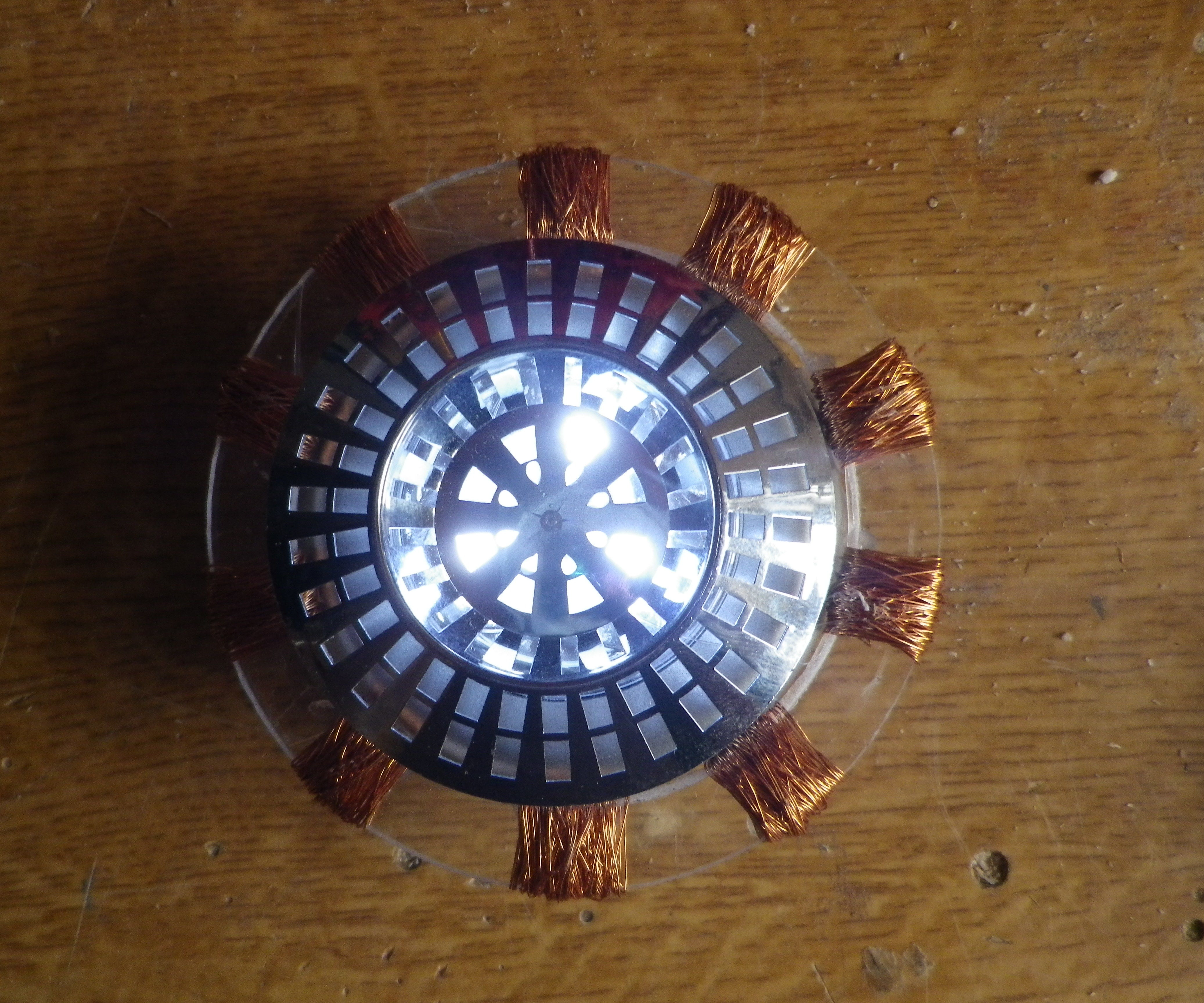 Build your own simple IronMan Arc reactor