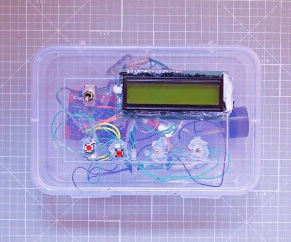 Arduino Controlled Kitchen Timer