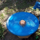 Octagon Stand for the Satellite Dish Bird Bath