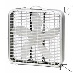 Remove Front and Back Fan Grills