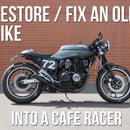 Restoring an Old Motorcycle and Making It a Cafe Racer!