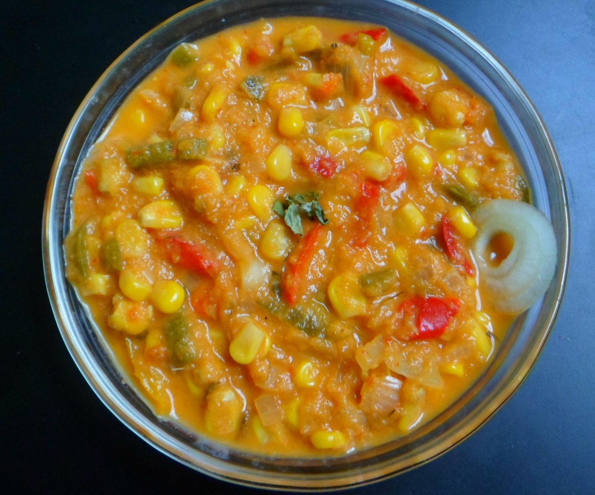 Capsicum Corn Gravy