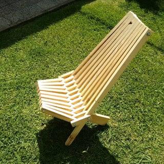 Folding Cedar Lawn Chair