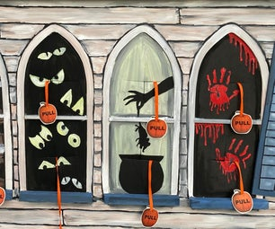 Covid Safe Haunted House Treat Dispenser