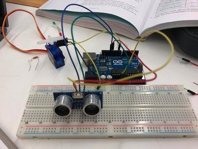 Arduino Intruder Sensor