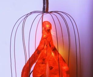 Paper-Only Alien Lamp