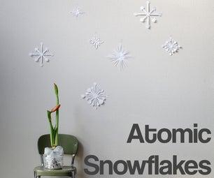 Atomic Snowflakes