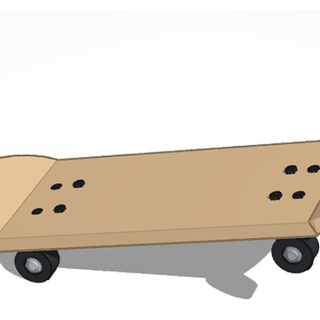 Making a Skateboard on Tinkercad