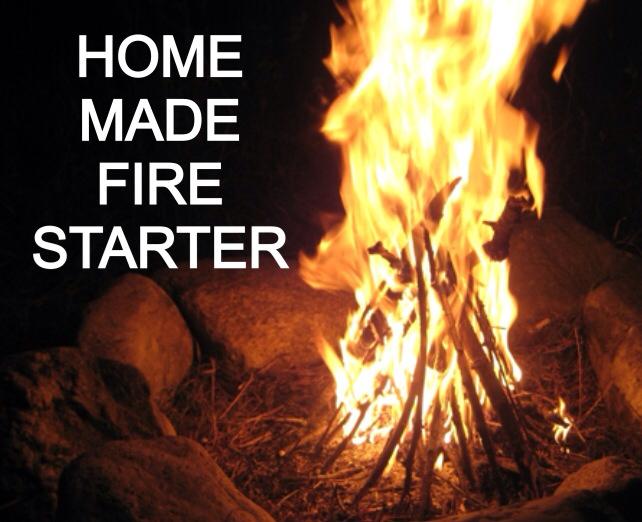 3 METHODS FOR HOME MADE FIRE STARTER