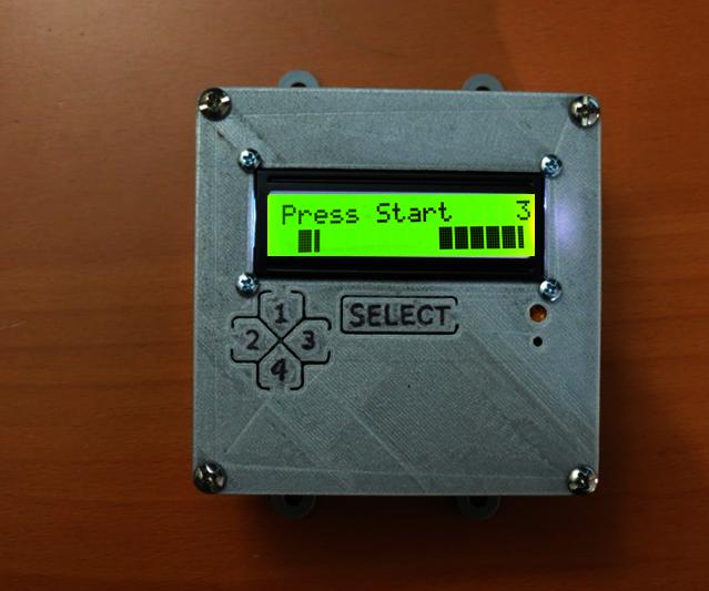 2x4 Arduino Video Game
