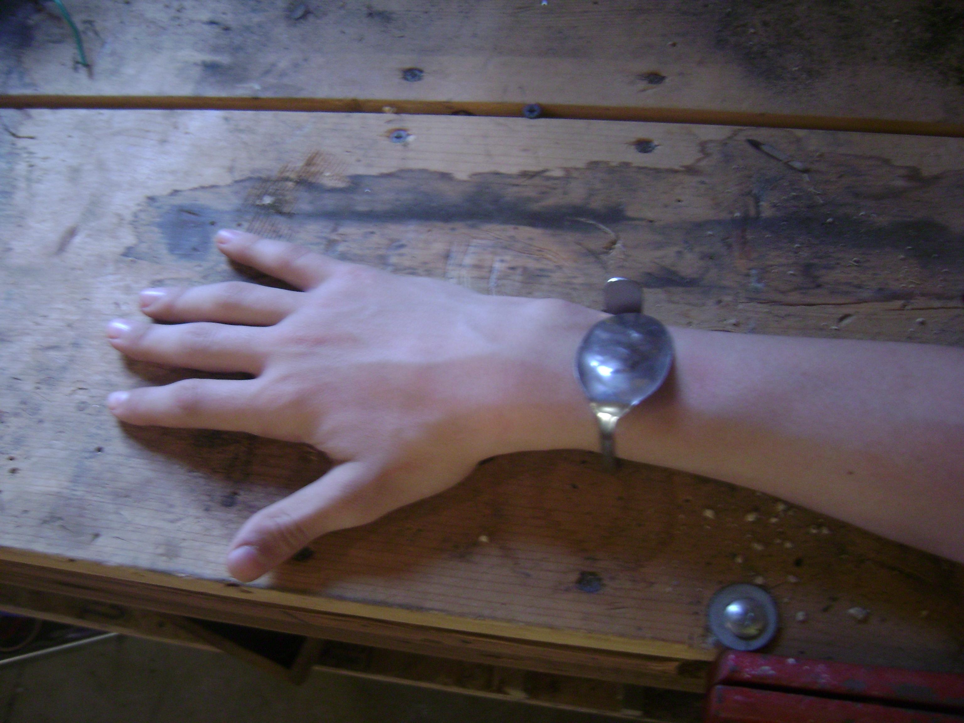 Easy Spoon Bracelet